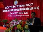 Lời chào mừng Hội thảo khoa học các trường THPT Chuyên khu vực Duyên hải & Đồng bằng Bắc bộ lần thứ VI – tại Thái Bình